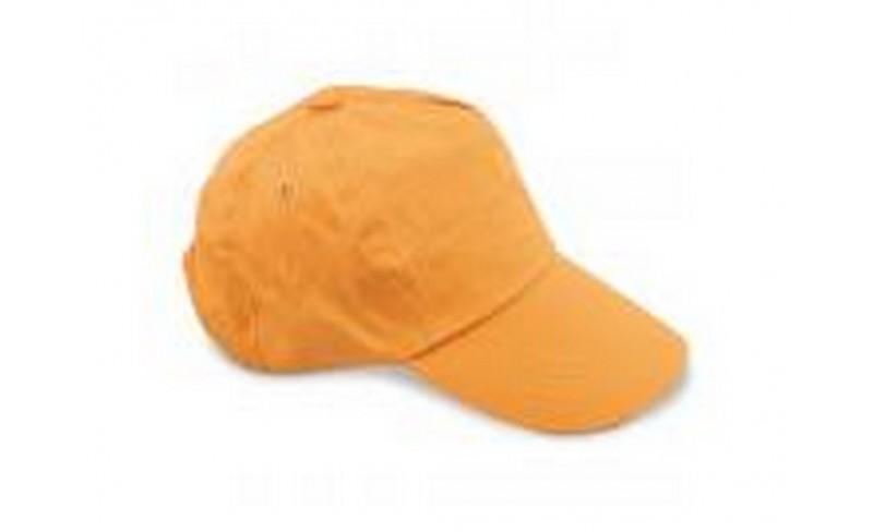 137a9a643218 Καπέλο jockey πορτοκαλί Διαφημιστικά καπέλα