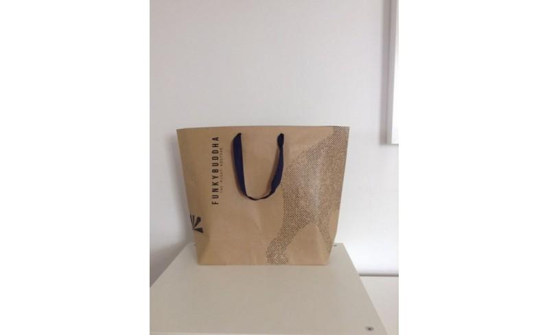0cd3ea3e3e τσάντες οικολογικές με εκτύπωση χάρτινες τσάντες κραφτ για εμπορικά  καταστήματα