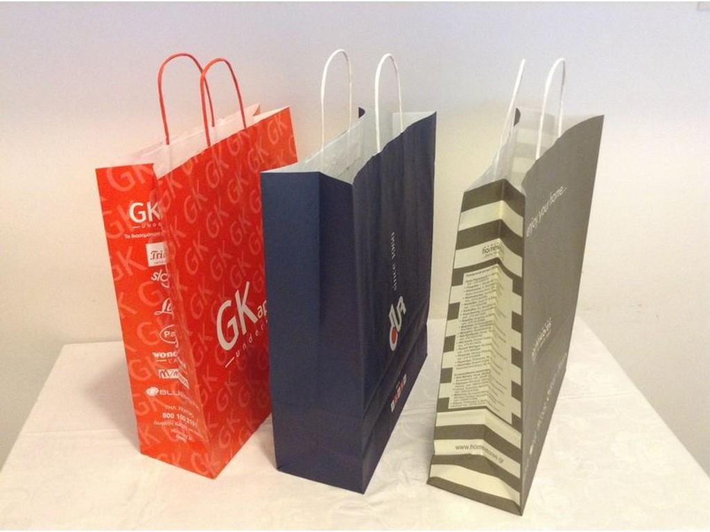 2d2f947d90 τσάντες κράφτ οικολογικές καταστημάτων χάρτινες τσάντες για είδη δώρων