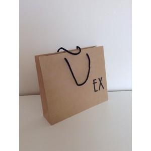 Τσάντες χάρτινες  οικολογικές σακούλες χωρίς εκτύπωση